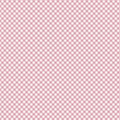 Micro xadrez rosa - BAÚ DA VOVÓ