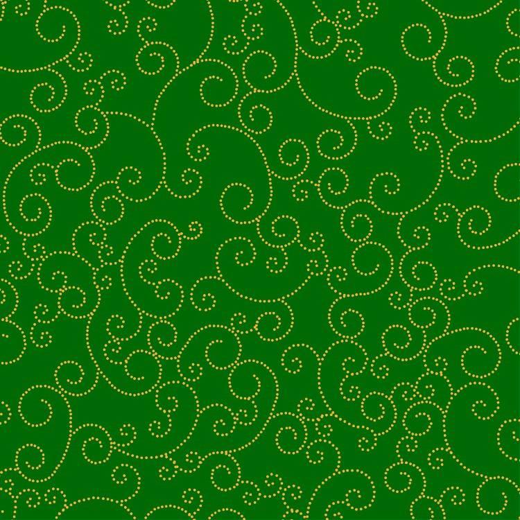 Swirl Fundo Verde - BAÚ DA VOVÓ
