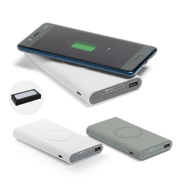 Bateria portátil wireless Aldrin - Hygge Gifts - HYGGE GIFTS