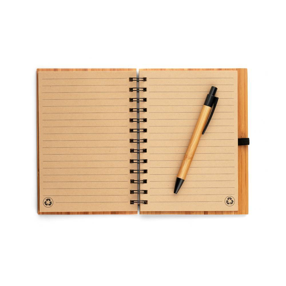 Caderno Ecológico Dickens A5 - Hygge Gifts - HYGGE GIFTS