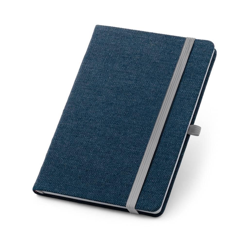 Caderno capa dura A5 Denim - Hygge Gifts - HYGGE GIFTS