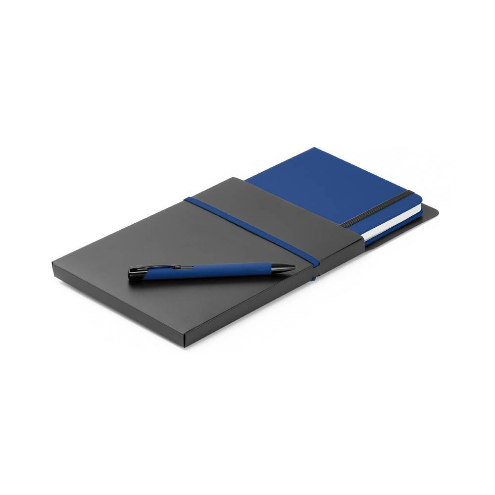 Kit caderno A5 e esferográfica Shaw - Hygge Gifts - HYGGE GIFTS