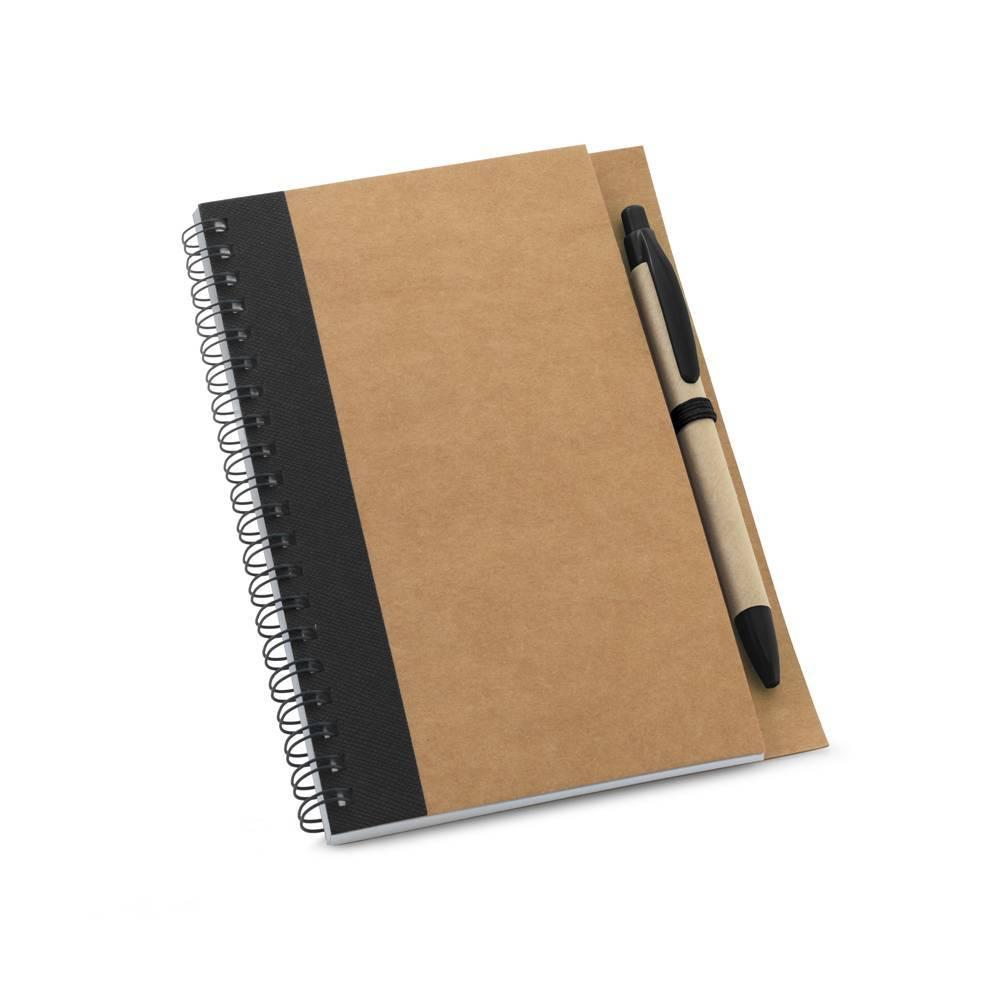 Kit caderno B6 e esferográfica Asimov - Hygge Gifts - HYGGE GIFTS