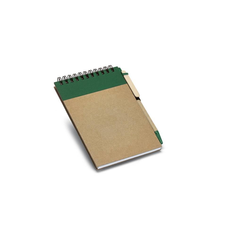 Kit caderno A6 e esferográfica Ringord - Hygge Gifts - HYGGE GIFTS