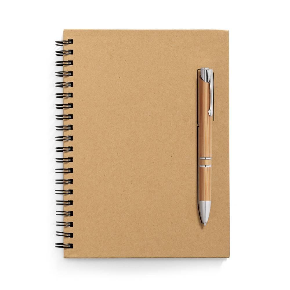 Caderno Ecológico capa dura B6 Rock - Hygge Gifts - HYGGE GIFTS