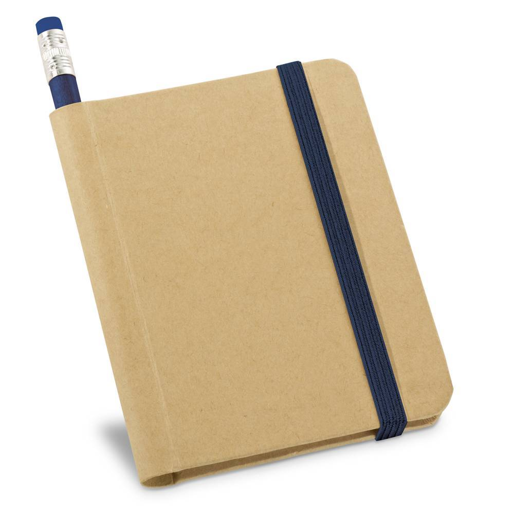 Kit caderno A7 e lápis Bronte - Hygge Gifts - HYGGE GIFTS
