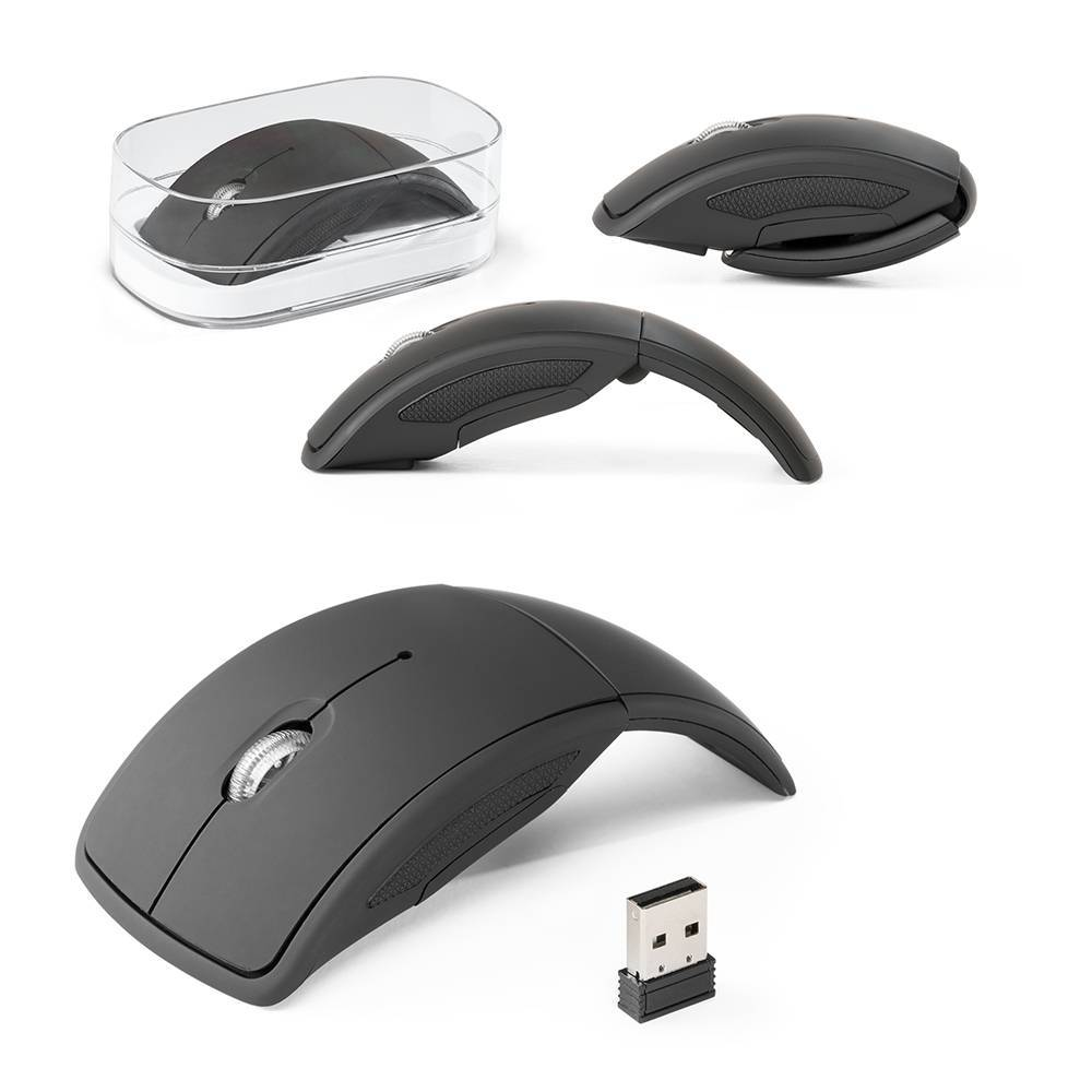 Mouse wireless dobrável Townes - Hygge Gifts - HYGGE GIFTS
