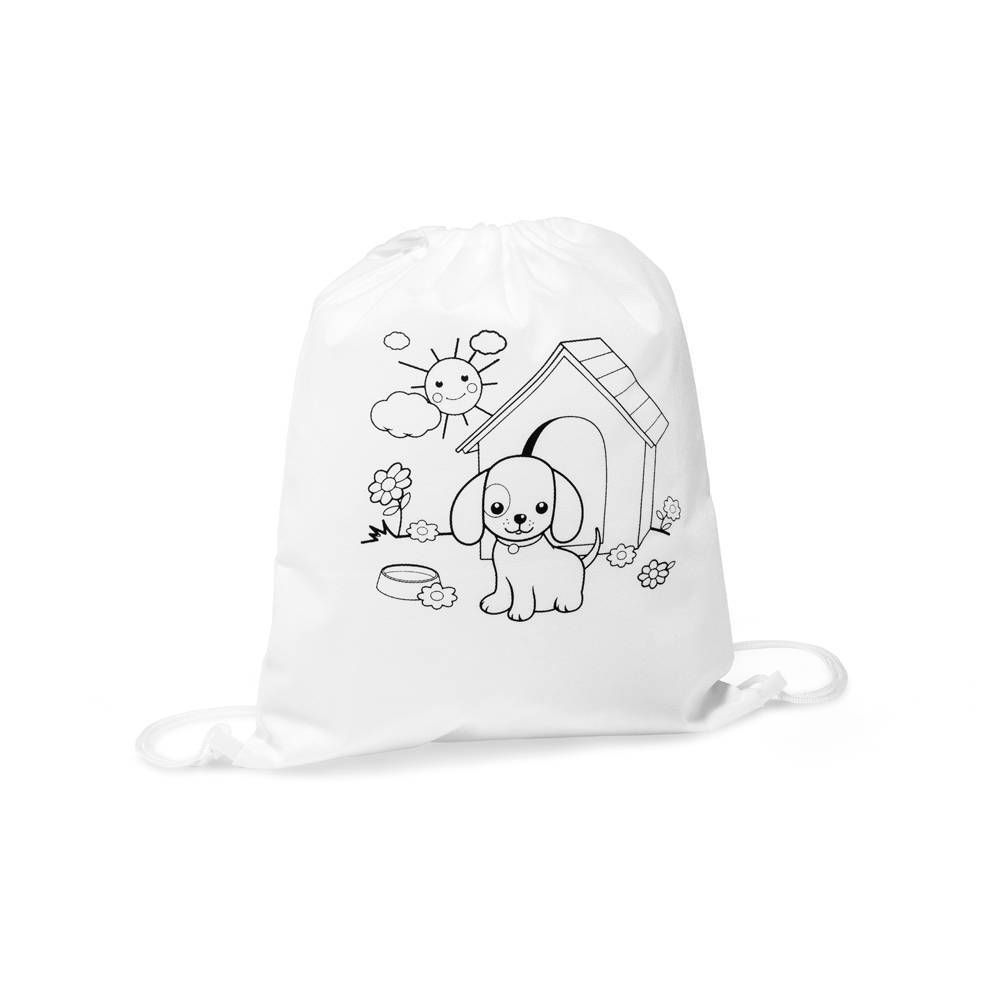 Sacola tipo mochila para colorir Baloo - Hygge Gifts - HYGGE GIFTS