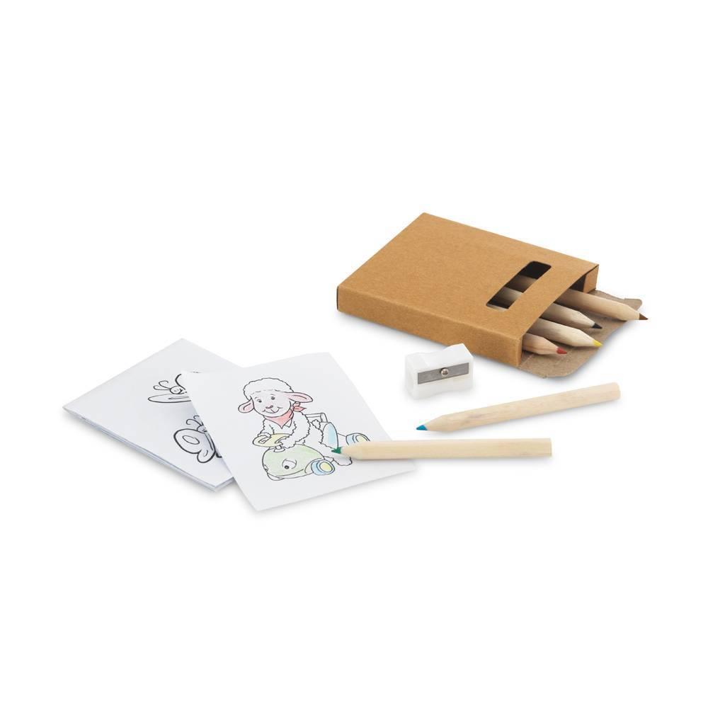 Kit para pintar em caixa de cartão - Anim - HYGGE GIFTS