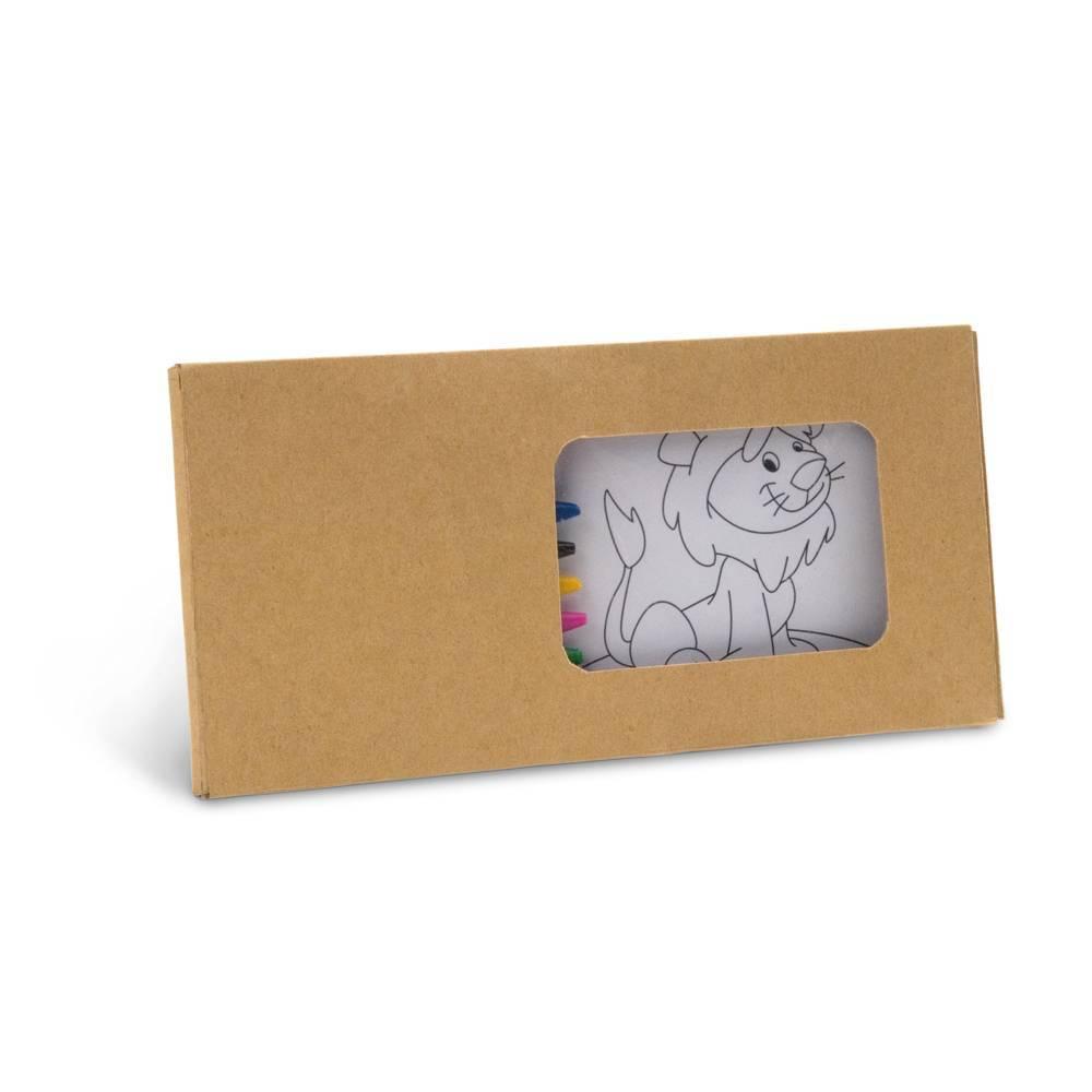 Kit para pintar em caixa de cartão - Jaguar - HYGGE GIFTS