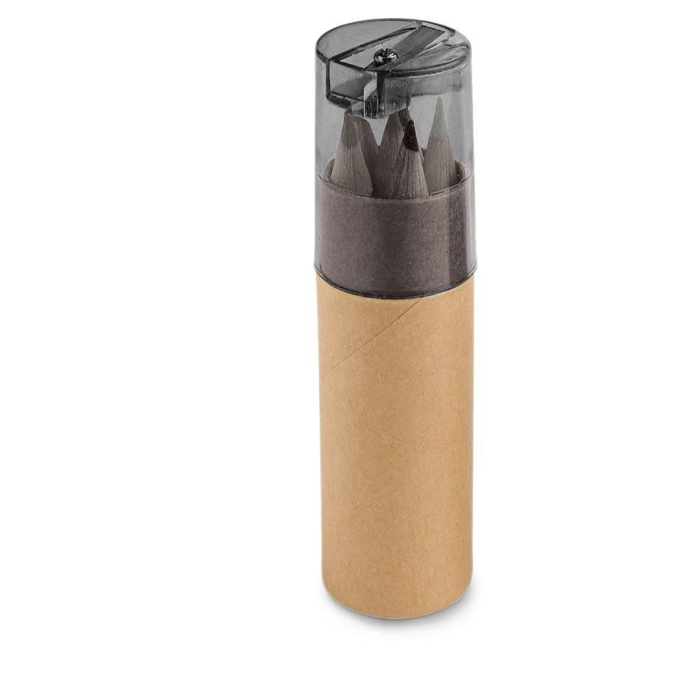 Mini lápis de cor Rols 6 cores - Hygge Gifts - HYGGE GIFTS