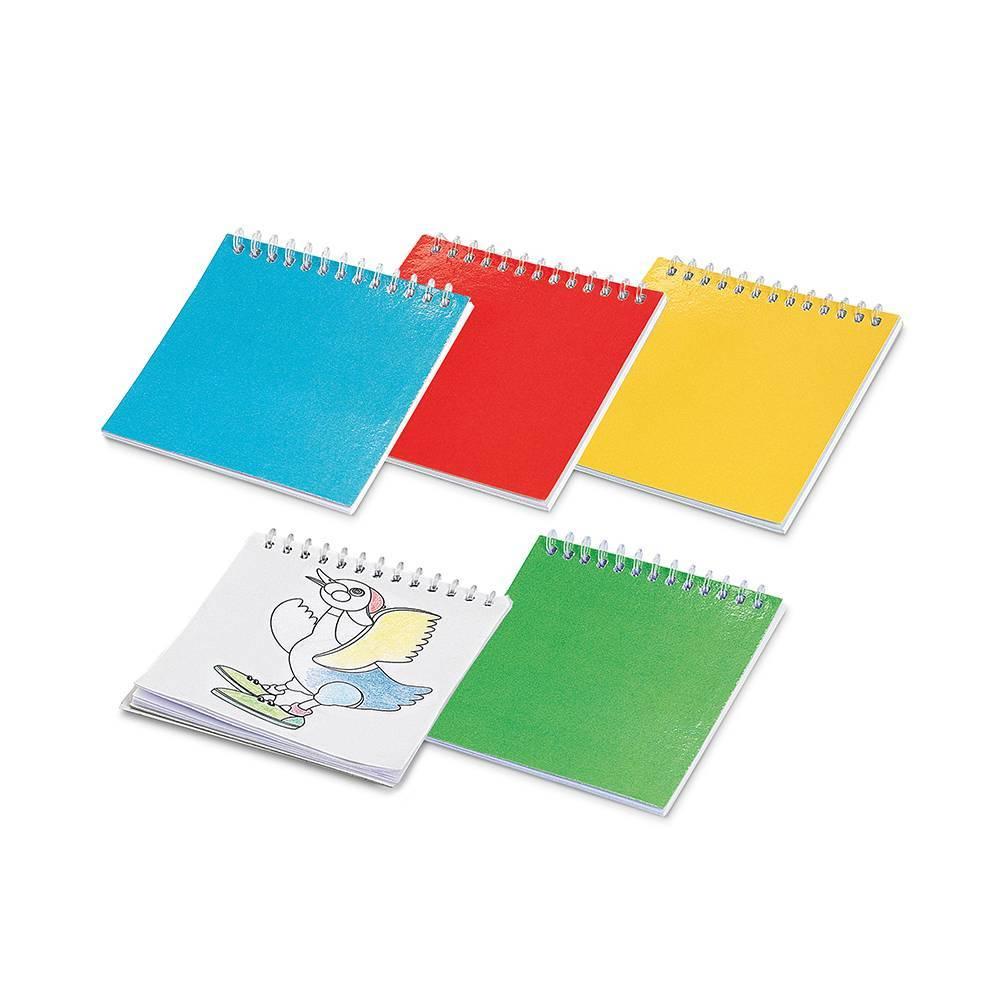 Caderno para colorir Cuckoo - Hygge Gifts - HYGGE GIFTS