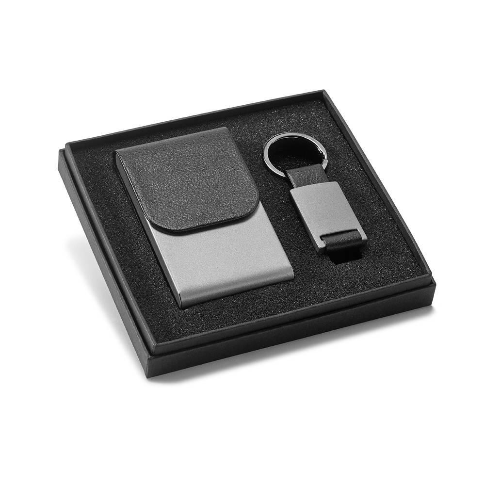 Kit porta cartões e chaveiro Carriedo - Hygge Gifts - HYGGE GIFTS