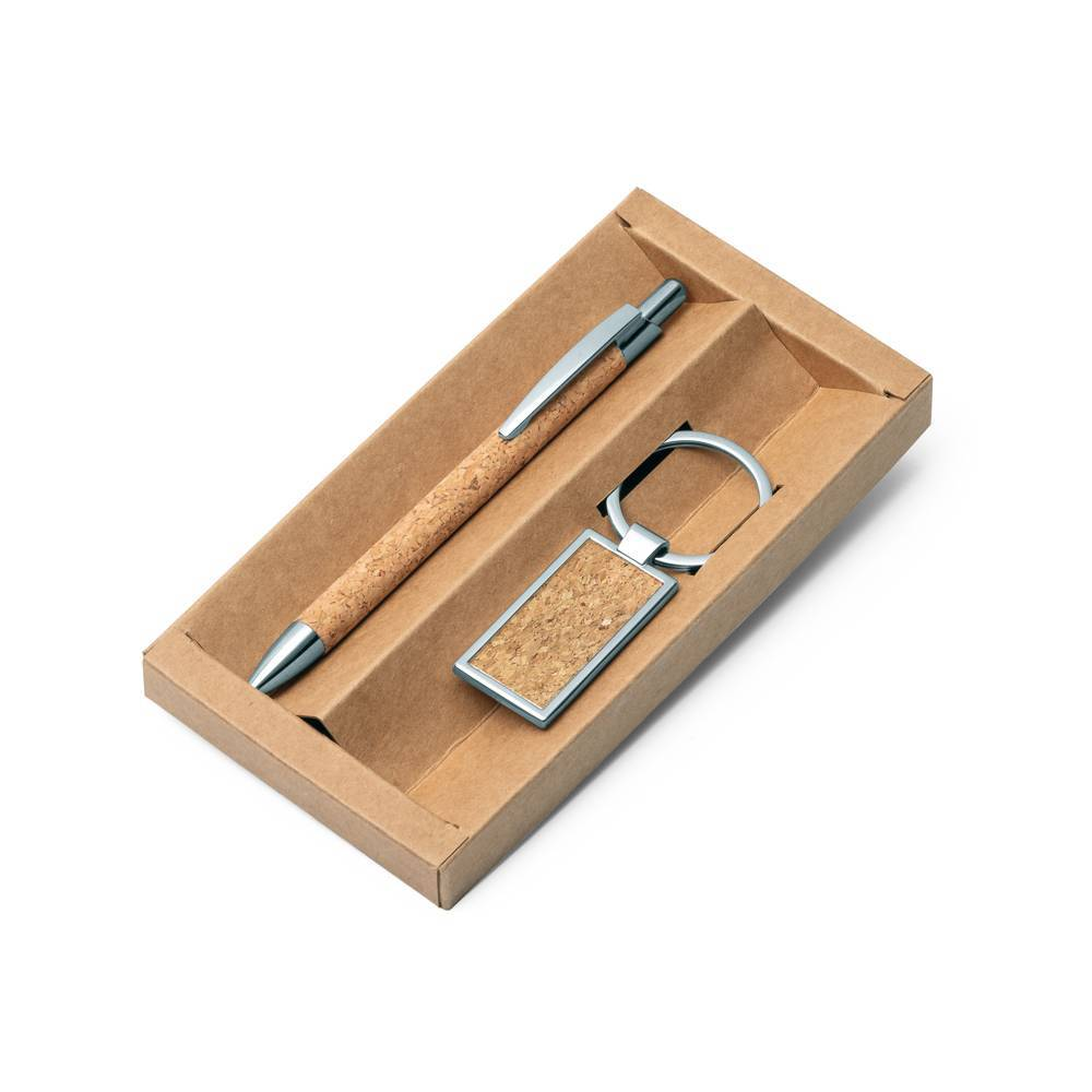 Kit esferográfica e chaveiro Lavre - Hygge Gifts - HYGGE GIFTS