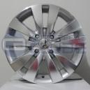 Jogo de rodas Peugeot 207 / 307 aro 15x6 4x108 offset 25 Prata diamanta - R12