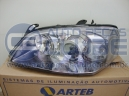 Farol Chevrolet Astra GSI 03 acima mascara escurecida Lado Motorista Arteb Numero GM 93377505