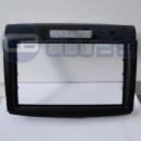 Frente Moldura de painel Honda CRV 2012 acima Preta para aparelhos 2 Din