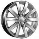 Jogo de rodas VW Jetta 2012 aro 18x7 5x100 offset 40 Prata Replica R27
