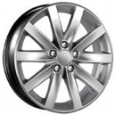 Jogo de rodas VW Jetta 2012 aro 20x7,5 5x100 offset 45 Prata Replica R27