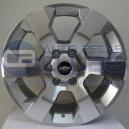 Jogo de rodas Chevrolet S10 LTZ 2012 aro 20x7,5 6x139,7 offset 33 Prata Dia. R31