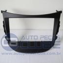 Frente / Moldura 2 din para Hyundai HB20 Padrao Maior Aparelho - Emborrachado