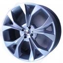 Jogo de rodas Honda Civic 2012 aro 20x7,5 5x114 offset 45 Prata Replica R29