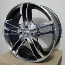 Jogo de rodas Krmai K28 aro 14x6 5x100 offset 40 Black Gloss
