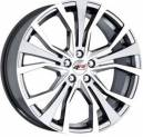 Jogo de Rodas Audi A1 aro 20x7,5 5x112 offset 45 Prata Diamantada Replica k44