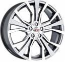 Jogo de Rodas Audi A1 aro 17x7 5x100 offset 40 Grafite Diamantada Replica k44