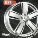 Jogo de rodas VW Amarok aro 18 5x120 Grafite Fosco R33