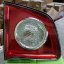 Lanterna Traseira VW SpaceFox 06-10 com luz re e contorno preto lado motorista Cibie Tampa Mala