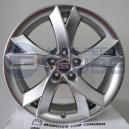 Jogo de Rodas Audi S5 aro 17X7 4x100 offset 36 Cromo Claro replica S202