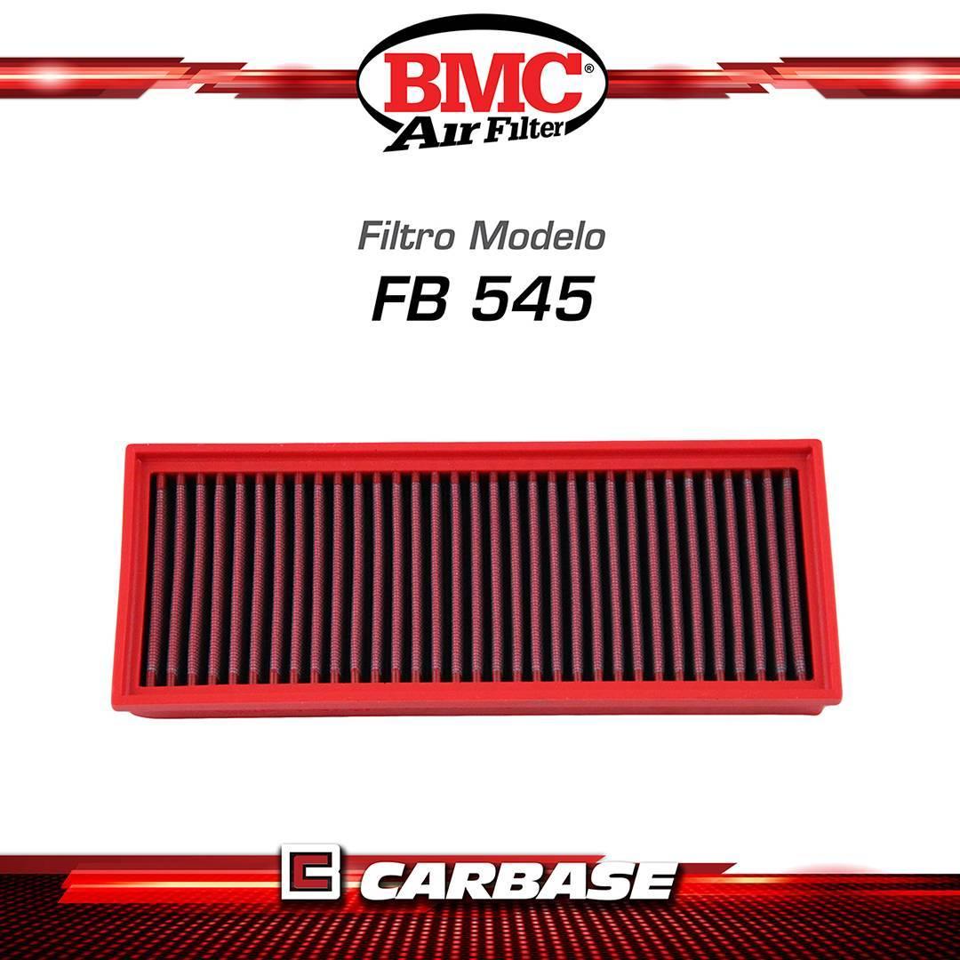 Filtro de ar esportivo BMC para automóvel - Audi A4 (B8)/ A5(8T)/ Q5 (8R) - código FB545/20 - Carbase Automotive Parts