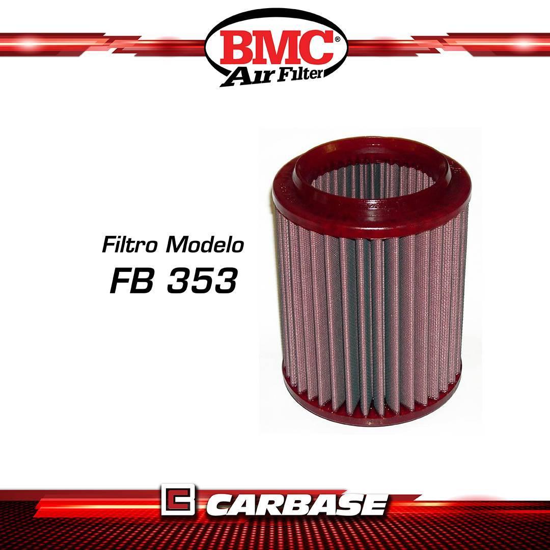 Filtro de ar esportivo BMC  para automóvel - Audi A8 (4E) - código FB353/06 - Carbase Automotive Parts