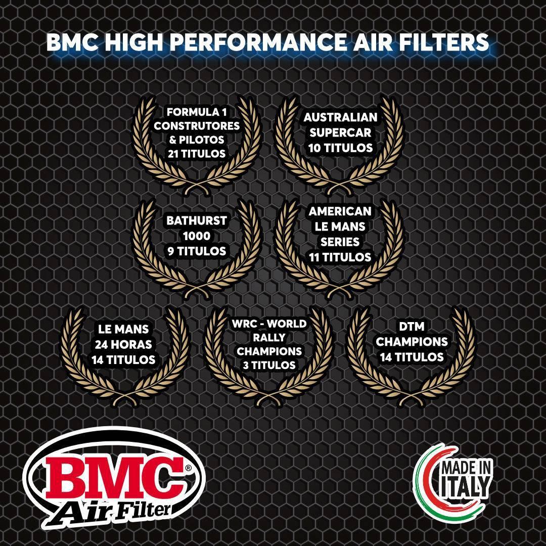 Filtro de ar esportivo BMC para automóvel - Chrysler/ Jeep/ Subaru - modelos diversos  FB565/20 - Carbase Automotive Parts