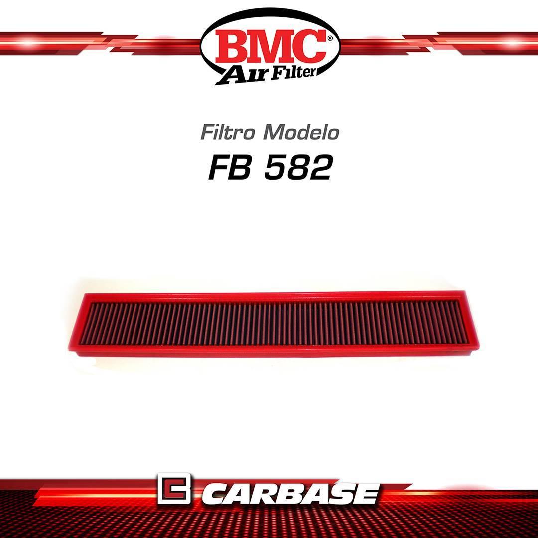 Filtro de ar esportivo BMC  para automóvel - Porsche Panamera I (970) - código FB582/20 - Carbase Automotive Parts