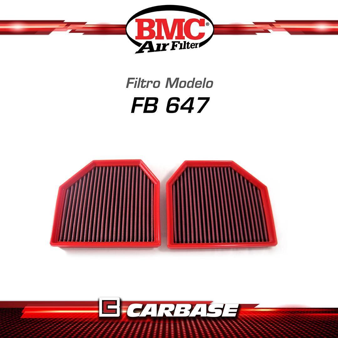 Filtro de ar esportivo BMC - BMW - M2 / M3 / M4 / M5 / M6 geração (Fxx) - FB647/20 - Carbase Automotive Parts