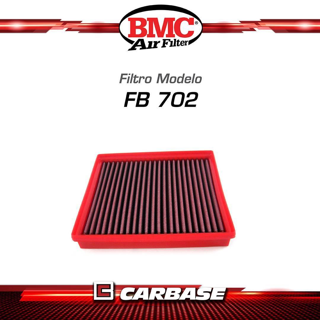 Filtro de ar esportivo BMC para automóvel - BMW serie 1/ 2/ 3/ 4 modelos Fxx - código FB702/20 - Carbase Automotive Parts