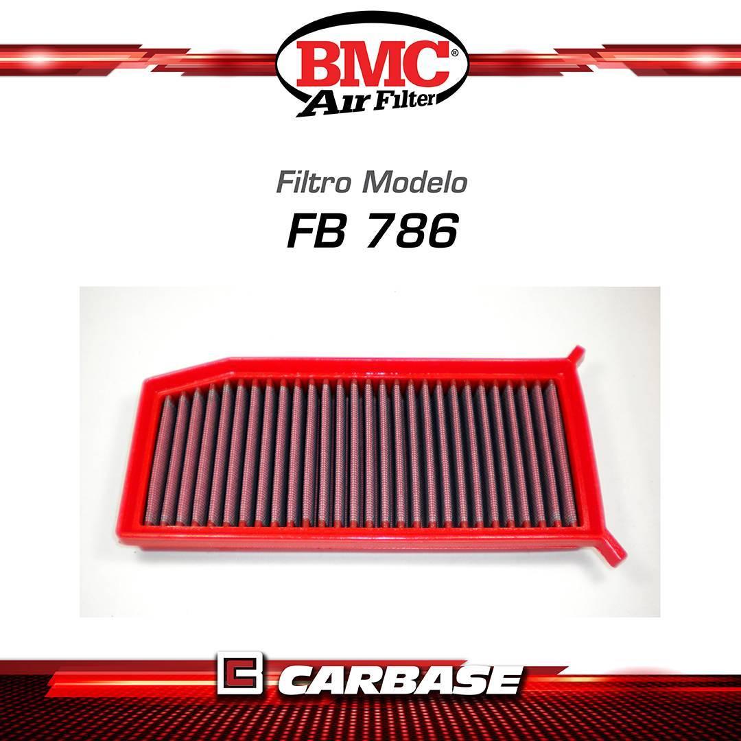 Filtro de ar esportivo BMC para automóvel Renault Captur (J5, H5) / Duster II FB786/20 - Carbase Automotive Parts