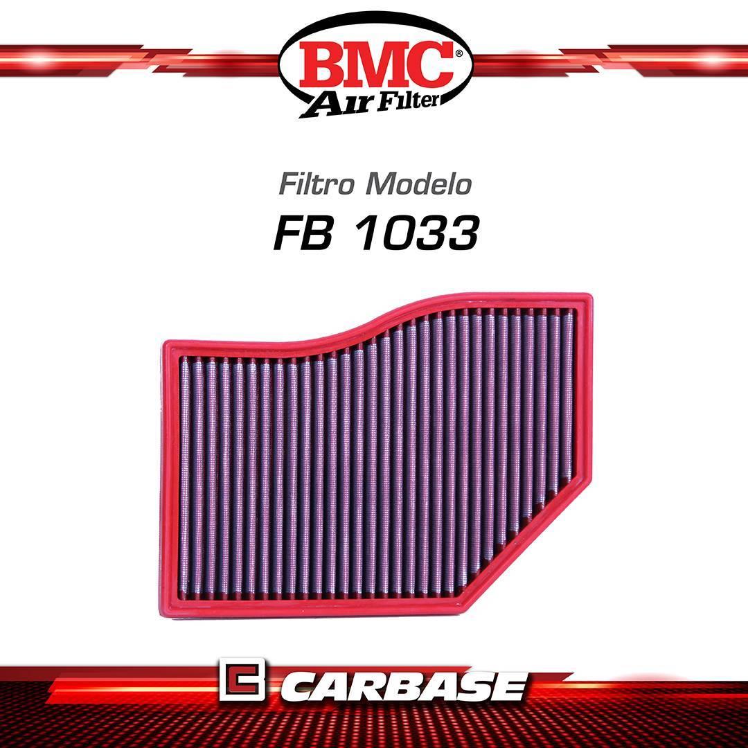 Filtro de ar esportivo BMC  para automóvel - Mercedes (CLA, Classe A/B (W177/247) GLB) - FB01033 - Carbase Automotive Parts