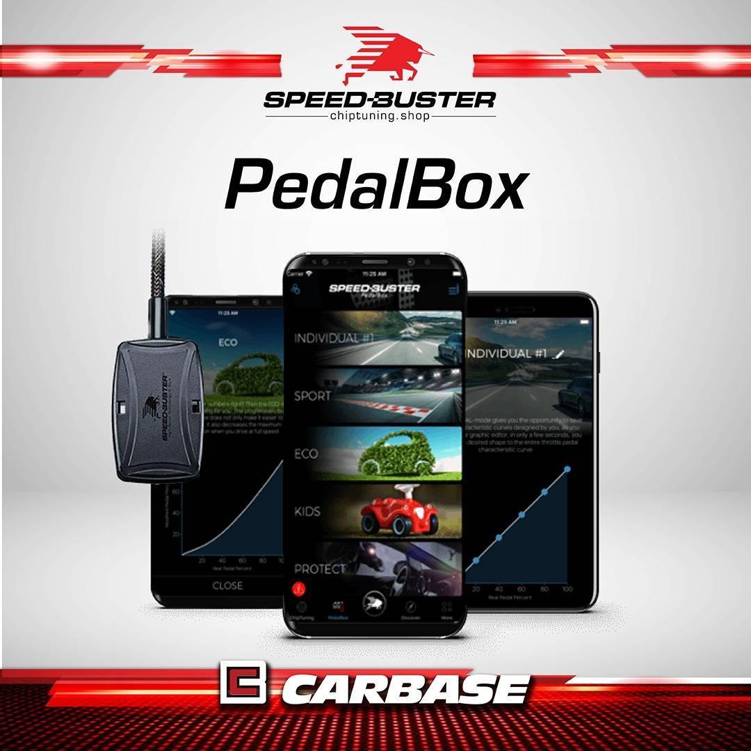 Pedalbox para Citroen C5 - 117008 - Carbase Automotive Parts