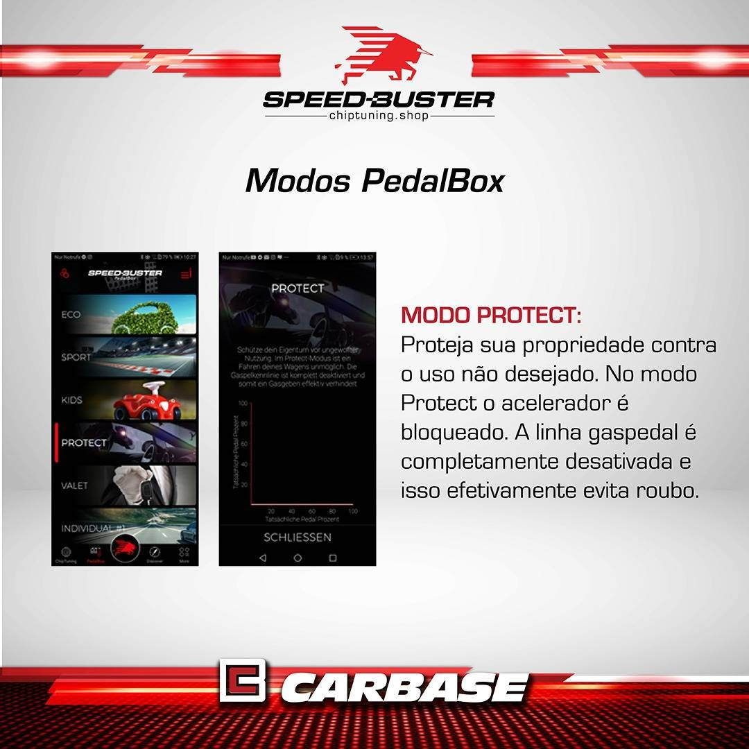Pedalbox para Mitsubishi Pajero - 117020 - Carbase Automotive Parts