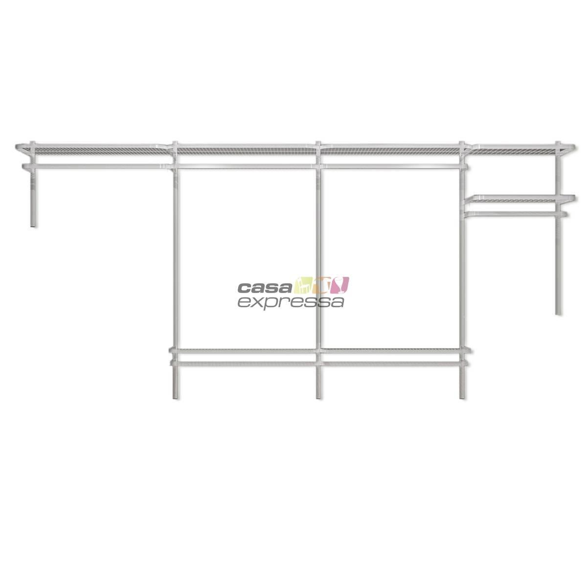Closet Aramado - Linear CLR192 - 3,40m - CASA EXPRESSA