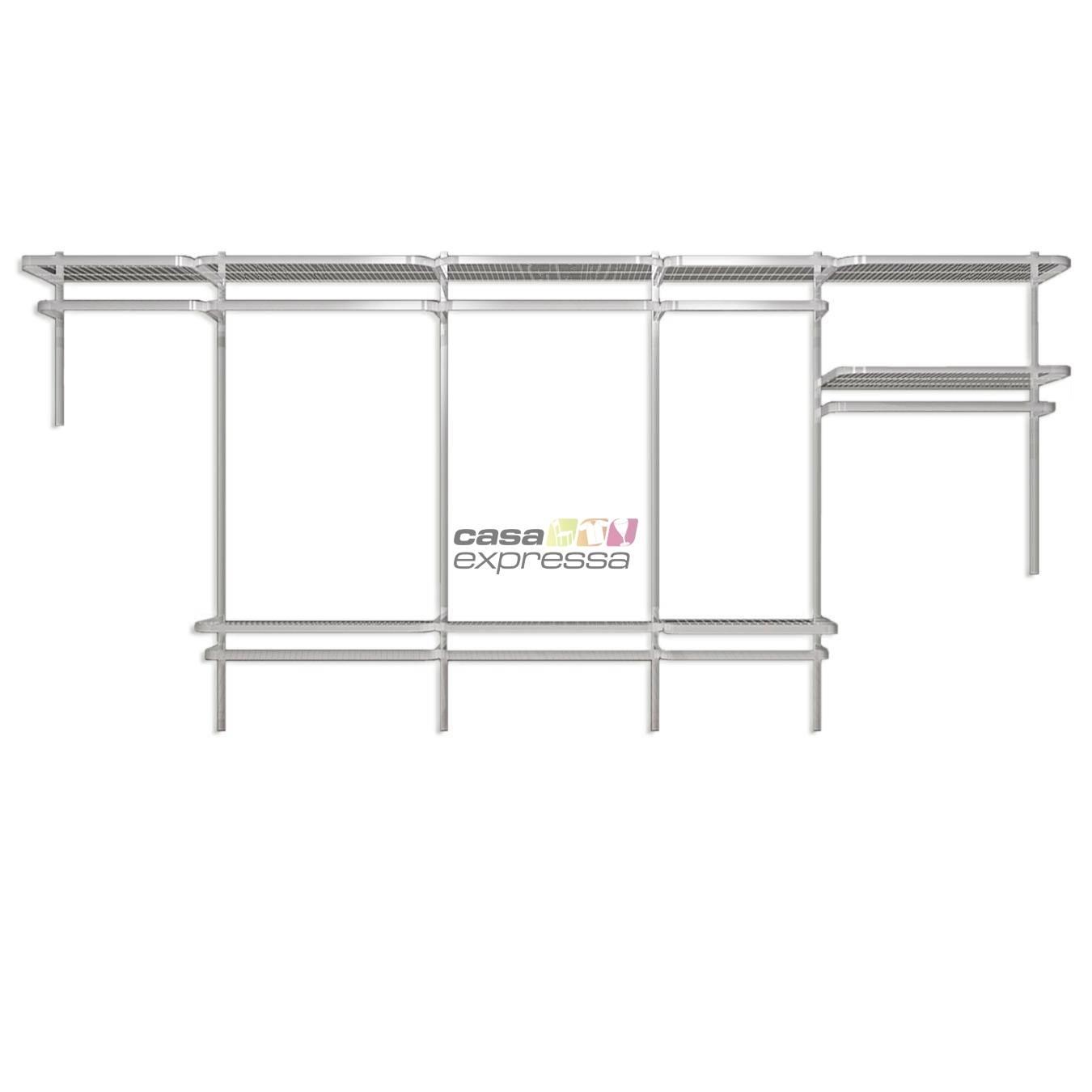 Closet Aramado - Linear CLR192 - 4,00m - CASA EXPRESSA