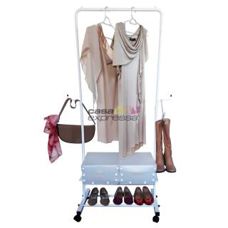 Arara para roupas - 60cm - Branca