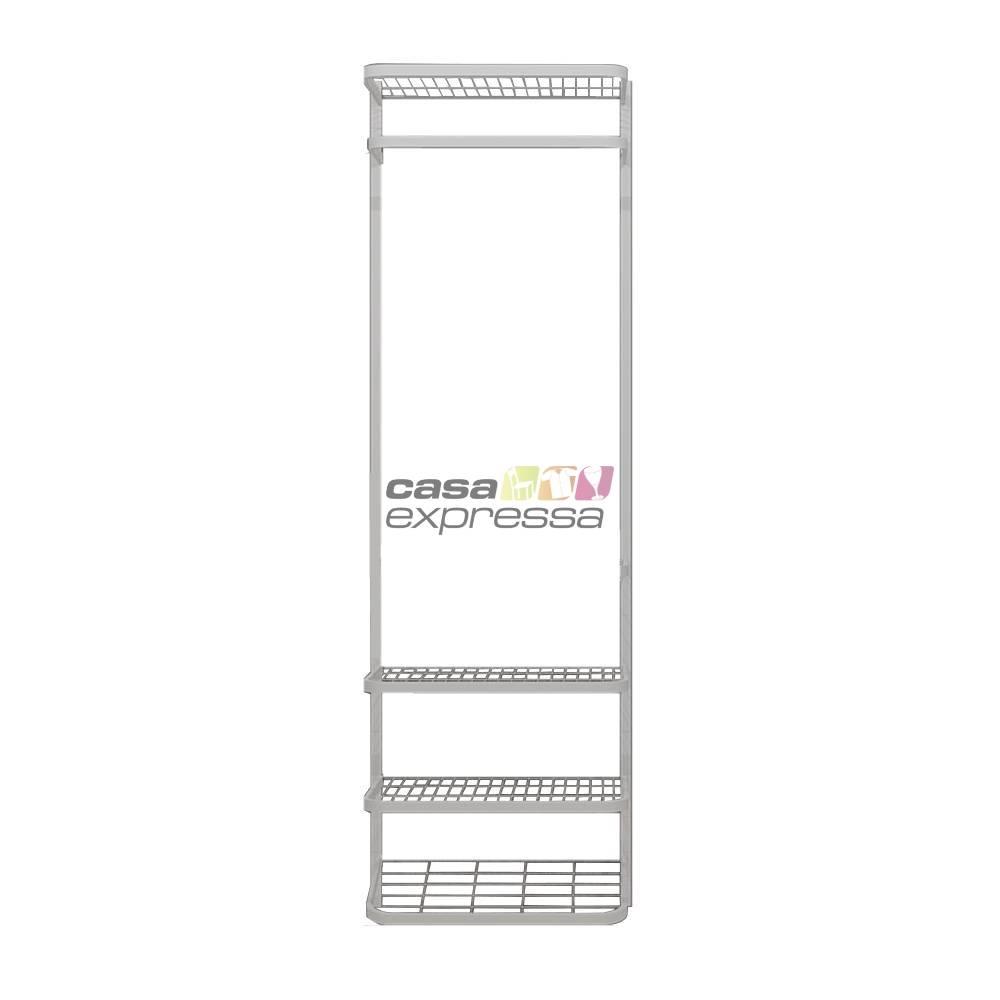 Guarda Roupa closet aramado sem portas CLR285 - 0,70m - CASA EXPRESSA