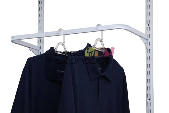 Guarda Roupa closet aramado sem portas CLR285 - 1,00m - CASA EXPRESSA