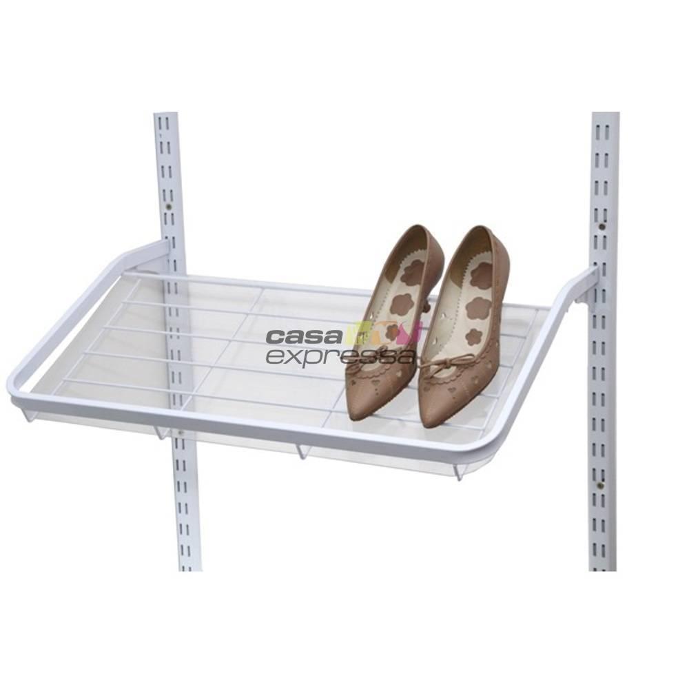 Guarda roupa closet aramado aberto CLR281 - 3,40m - CASA EXPRESSA
