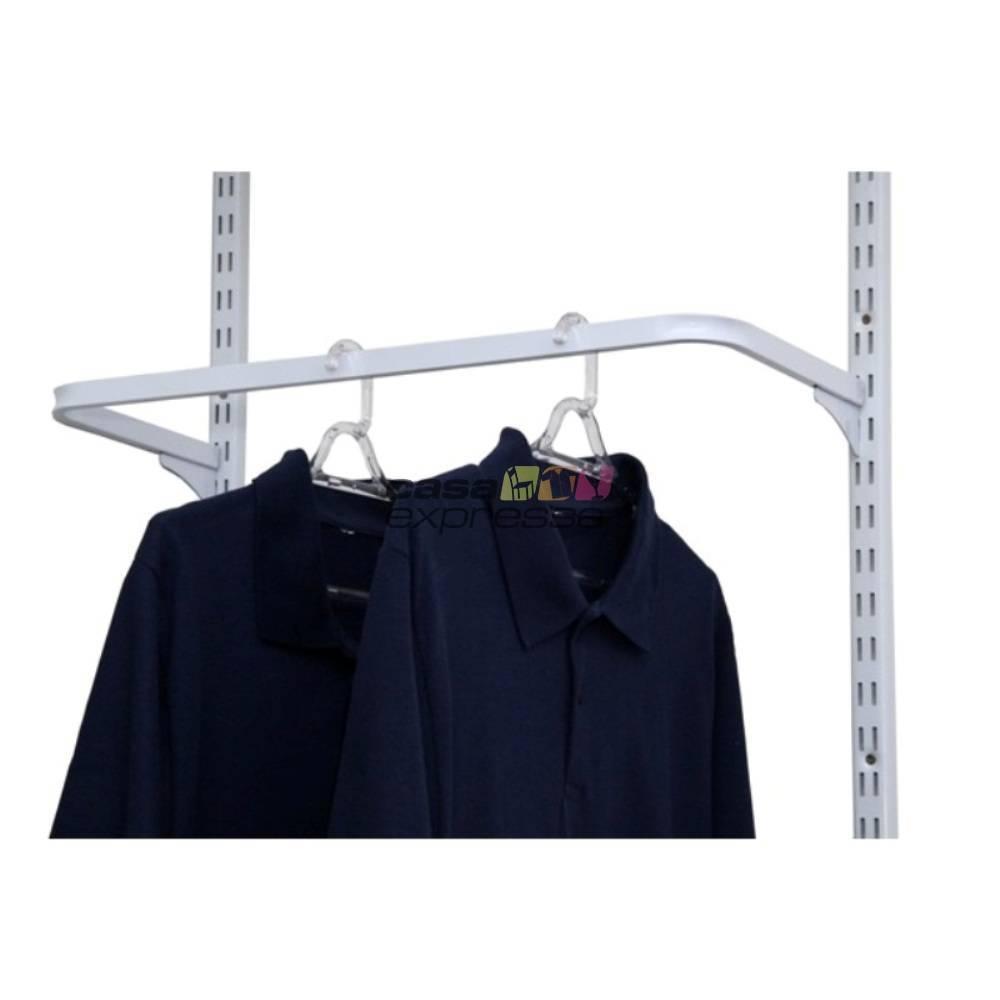Guarda roupa closet aramado aberto CLR281 - 1,30m - CASA EXPRESSA