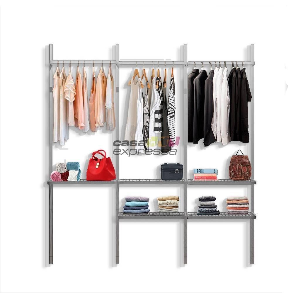 Kit Closet Monte Como Quiser - 12 peças